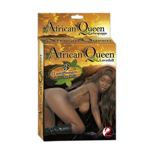 Muneca hinchable Amada Reina Africana