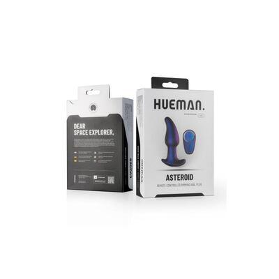 Plug anal con control remoto Asteroid 11