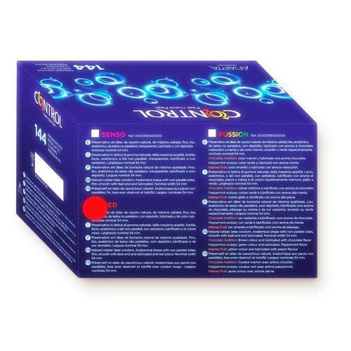 Preservativos aroma a fresa 144 Uds