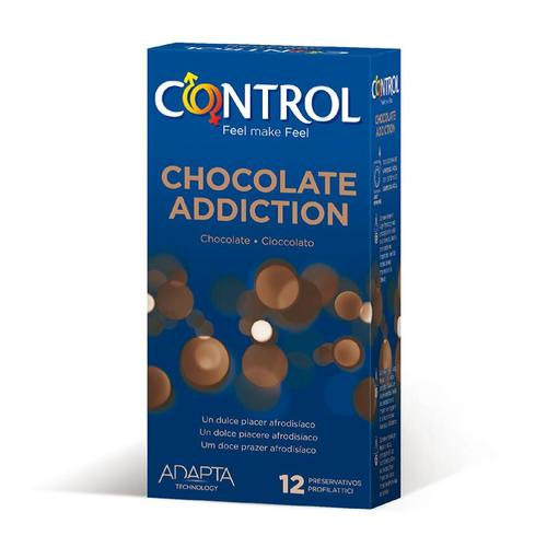 Preservativos sabor a chocolate 12 Uds