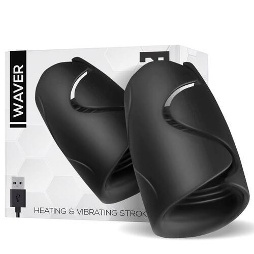 Masturbador con funcion calor y vibracion Waver