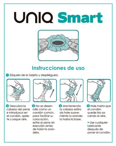 Preservativos Uniq Smart Pre Ereccion 3