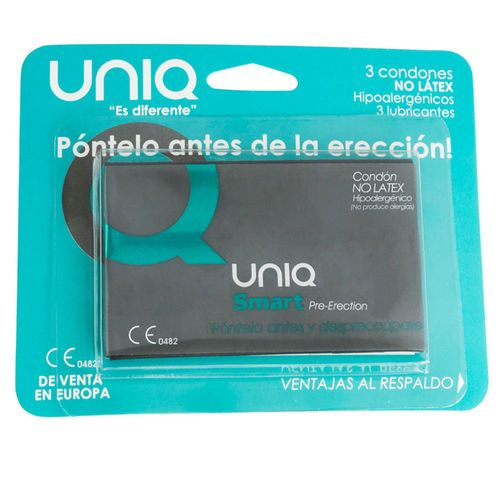 Preservativos Uniq Smart Pre Ereccion