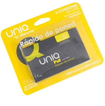 Preservativos con tiras sin latex Pull 2