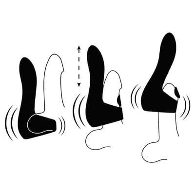 Masturbador con modos vibracion y pulsacion 7