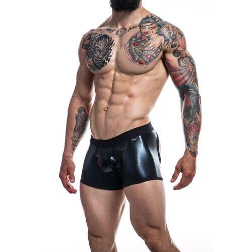 Boxer trasera descubierta negro escay Cut4Men