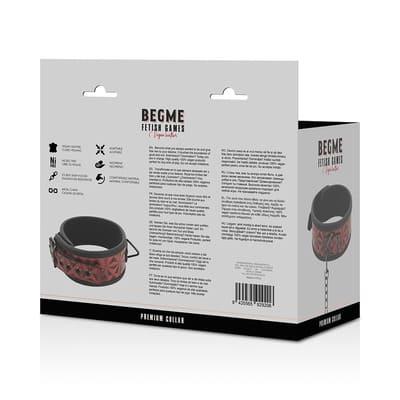 Collar de cuero vegano Red Edition 7