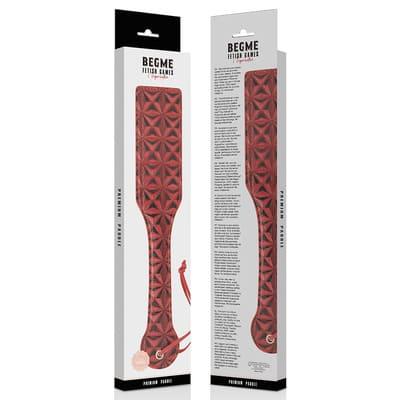 Pala de cuero vegano Begme Red Edition 3