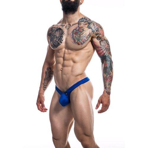 Tanga con Push up modelo azul Royal